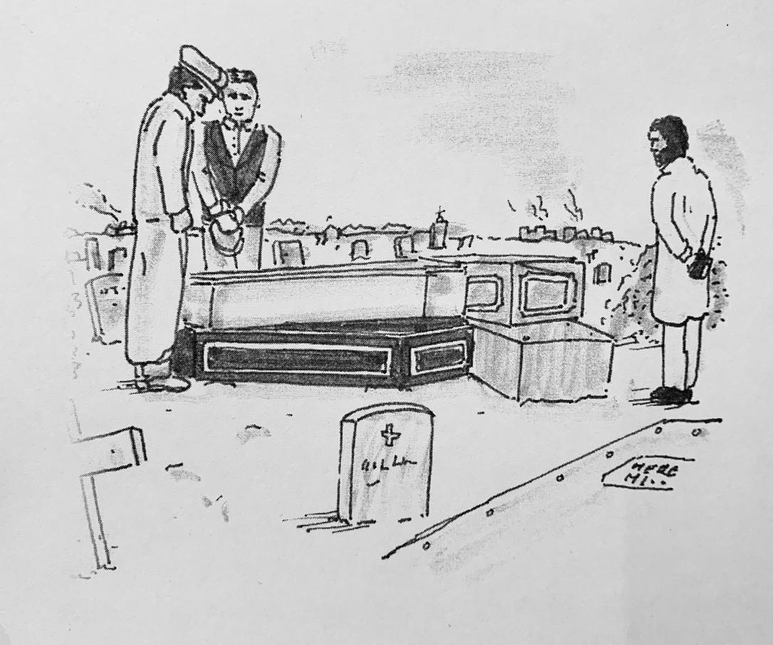 Burial sketch